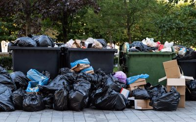 Trash piling up in the apartment complex you manage? Here's how you can take care of it and make sure your Dumpsters are free and clear.
