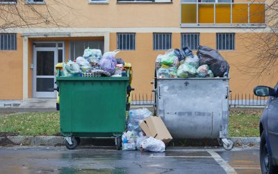Here's the cheap and fast way to empty overflowing apartment complex Dumpsters within the day.